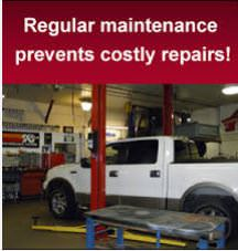 auto tech center service repair intervals