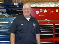 Neil a mechanic at Auto Tech Center in Ann Arbor MI