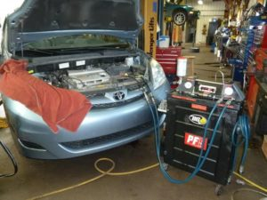 Car tune up at Auto Tech Center auto repair garage